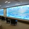 オフィス 打ち合わせスペース 光る壁面 | 株式会社 PFU