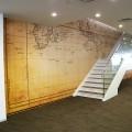 オフィス 階段ホール 壁面 | 株式会社 PFU