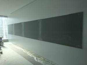 ホワイトボードパテ処理ボンデ鋼板